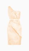 Oscar de la Renta Belted Dress