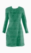 Pringle 1815 Collarless coat