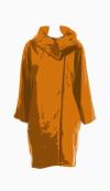 Topshop Cocoon coat