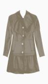 Love Moschino A line coat
