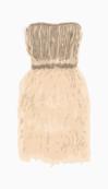 Marchesa Strapless Dress