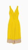 CLEMENTS RIBEIRO A Line Dress