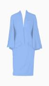 Alexander Mcqueen Drop Waist Dress