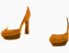 Saint Laurent platform shoes