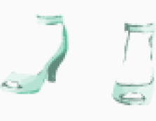 Miu Miu Ankle wrap shoes