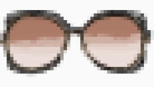 Gucci over sized sunglasses