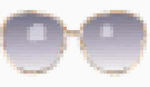 Diane Von Furstenberg over sized sunglasses