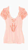valentino Loose Style Top