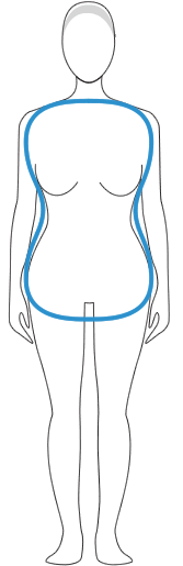 The Full Hourglass Body Shape