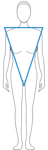 The Inverted Triangle Body Shape
