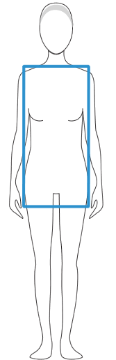 The Lean Column Body Shape