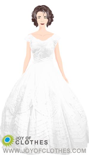 Jacqueline Kennedy wedding dress by Ann Lowe | Looks | Style Me ...