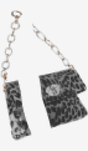 Charcoal Miu Miu Shoulder Bag
