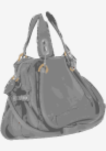 Charcoal Chloe Bowling Bag