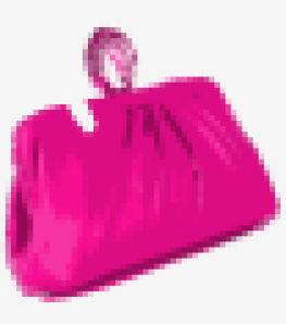 Hot-pink Moschino Cheap And Chic Clutch
