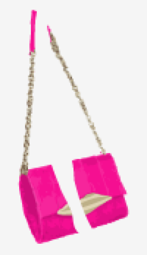 Hot-pink Diane Von Furstenberg Shoulder Bag
