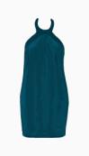 Philosophy di Alberta Ferretti Halter Dress