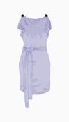 Vionnet Belted Dress