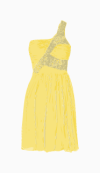 Rachel Gilbert One Shoulder Dress