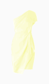 Max Mara One Shoulder Dress