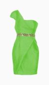 Rachel Gilbert Belted Dress