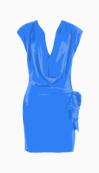 Diane Von Furstenberg Drop Waist Dress