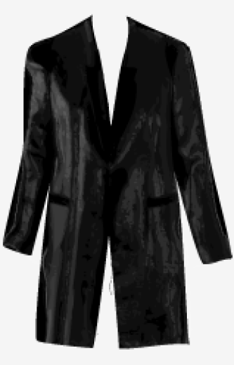Black Twenty8Twelve A Line Coat