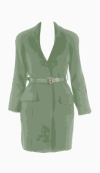Preen Belted coat
