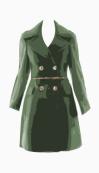 Burberry Prorsum Belted coat