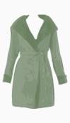 Max Azria Belted coat
