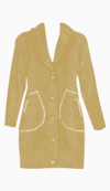 DKNY Fitted Coat
