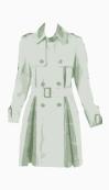Topshop A line coat