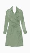 Burberry A line coat