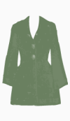 Goat Single breasted coat