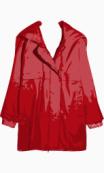 Stella McCartney Hooded coat