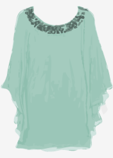 Turquoise Tibi Shift Dress