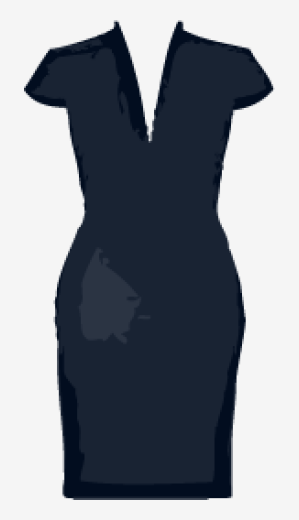 Charcoal-blue Alexander Mcqueen Bodycon