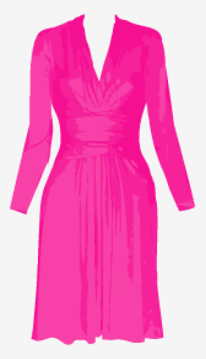 Hot-pink Issa A Line Dress