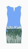 Giambattista Valli Drop Waist Dress