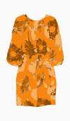 tucker Waist Dress