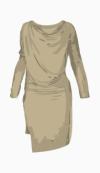 Vivienne Westwood Anglomania Drop Waist Dress