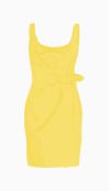 Moschino Cheap and Chic Fitted Dress