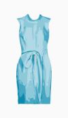 Saint Laurent Belted Dress