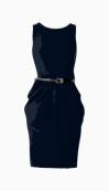 Michael Kors Belted Dress