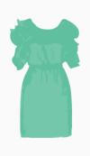 Catherine Malandrino Waist Dress