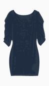 Farhi by Nicole Farhi Fitted Dress