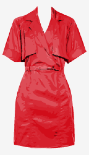 Scarlet Lela Rose A Line Dress