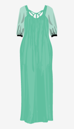Mint Zimmermann Maxi Dress