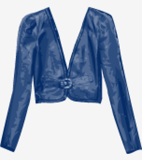 Light-navy Alice By Temperley Belted Jacket