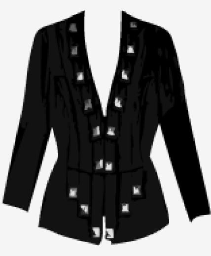 Black Temperley London Fitted Jacket